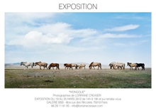 Mongolia Lorraine Creaser Photography Exhibition Studio Galerie B&B